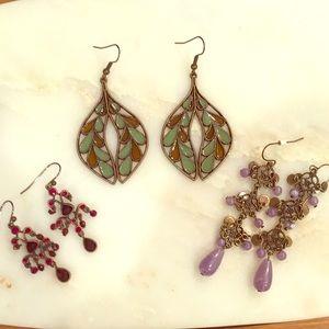 Jewelry - Set of Earrings